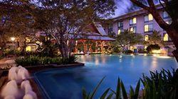 曼谷诺富特机场酒店 泳池