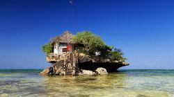 桑给巴尔岛-岩石餐厅