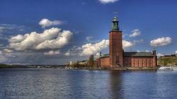 诺贝尔奖晚宴举行地--斯德哥尔摩市政厅