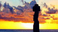 挥别复活节岛