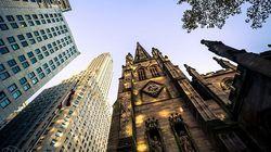 华尔街三一教堂