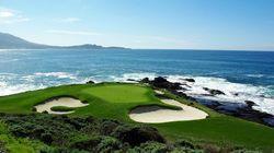 旧金山圆石滩高尔夫