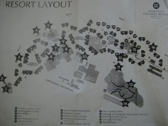 手绘酒店地图简笔画