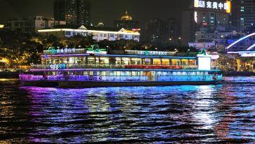 广州广东珠江夜游大沙头海豚蓝游轮码头攻略英雄末路手游船票图片