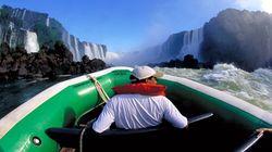 伊瓜苏瀑布国家公园冲瀑皮划艇