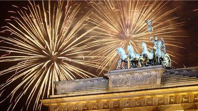 柏林新年焰火