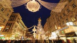 维也纳圣诞节日气氛