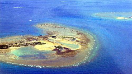 心形海岛图片大全
