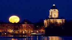 赫尔辛基夜景