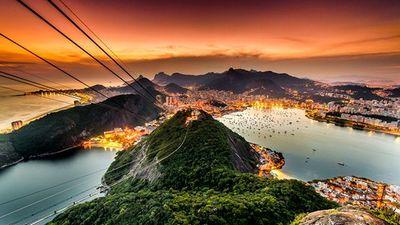 里约热内卢 鸟瞰
