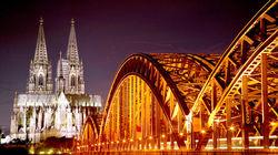 科隆大教堂夜景