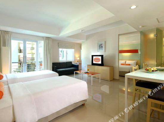 巴厘岛库塔河景哈里斯酒店(harris hotel & residences riverview kut