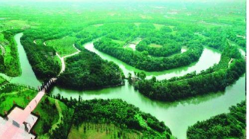 淹城春秋乐园地图全景