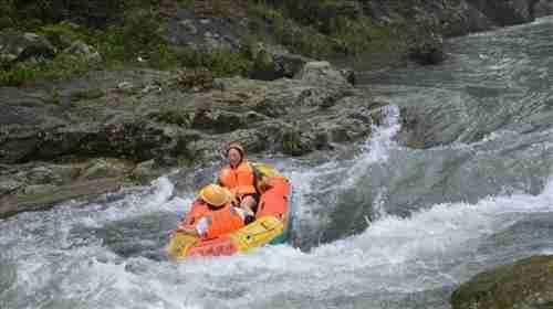 体验玩,最原始,最生态的森林漂流之王『川龙峡漂流』 须知 定制  包团