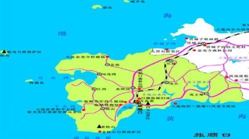 旅顺到双岛的地图图片