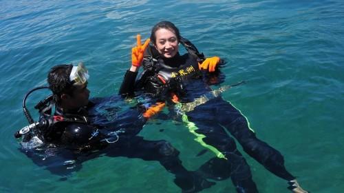 三亚分界洲岛户外一日游(远海深潜+浮潜+海钓+海洋+)