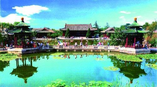 西安外国语大学风景