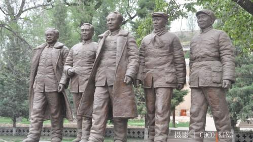 陕北青年石膏头像