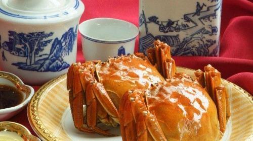 """美食之旅·苏州阳澄湖""""莲花岛农家乐蟹宴""""巴士一日游"""