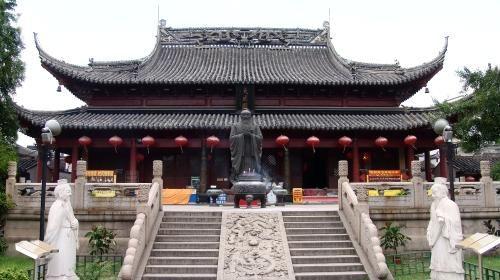 南京夫子庙室外金属垃圾桶图片