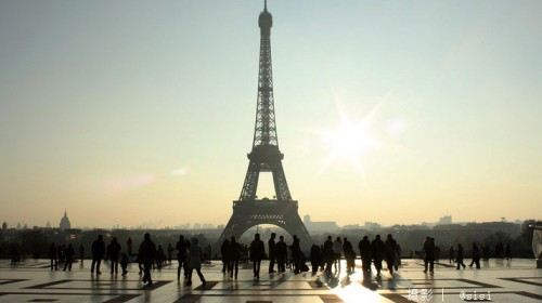 法国巴黎埃菲尔铁塔1
