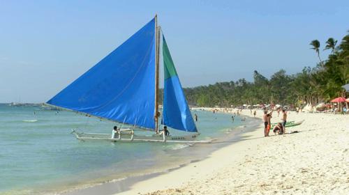 菲律宾长滩岛6日5晚跟团游·全天出海游+浮潜+bbq