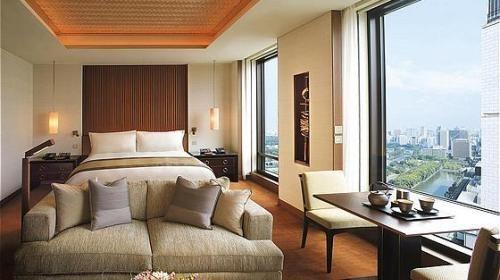 东京半岛酒店客房内景