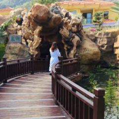 바이수이자이자화 온천 여행 사진