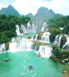 广西游记图文-只知道贵州黄果树?来亚洲第一大跨国瀑布吧,这三种体验别错过