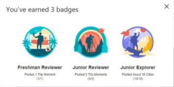 Trip Moments Badges: What Are They and How Do You Get Them?