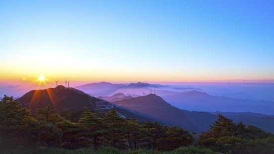 Jiugong Mountains