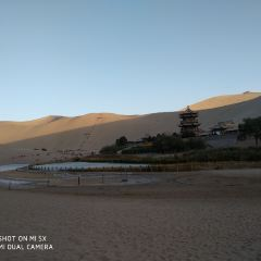 명사산 월아천 여행 사진