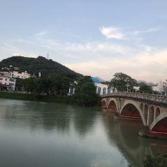 충화비취안콩중 온천(종화벽천공중 온천) 여행 사진
