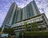 距離bts 500米 高檔兩卧室公寓泳池健身房