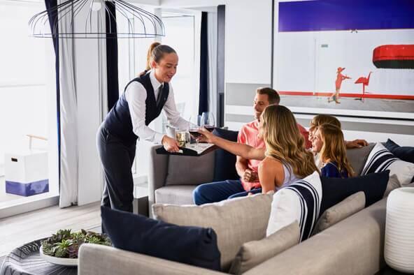 名人套房舱房礼遇 Celebrity Suite Services