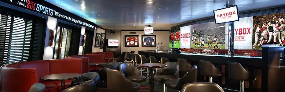 空中包厢运动酒吧 SkyBox Sports Bar