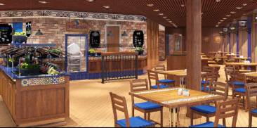 蓝蜥蜴餐厅