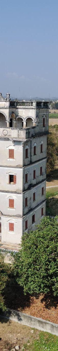 自力村碉楼群-开平