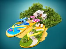 热高乐园+皇家海洋乐园2日1晚跟团游·走就走的旅行,背上行囊轻装出发,到山林、海边,看看蓝天,抱大海,享受阳光