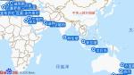 珊瑚公主号航线图
