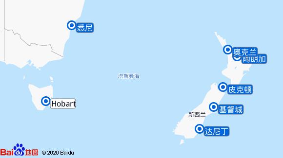 皇家公主号航线图