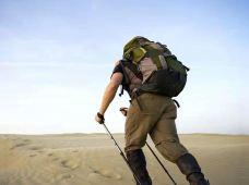 徒步登山·腾格里2日徒步+骆驼+冲浪+自驾摩托车/巴击+自助烧烤+沙漠派对篝火+营养早餐+滑沙
