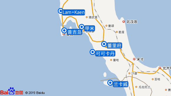 Star Clipper航线图