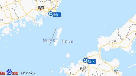 赛琳娜号航线图