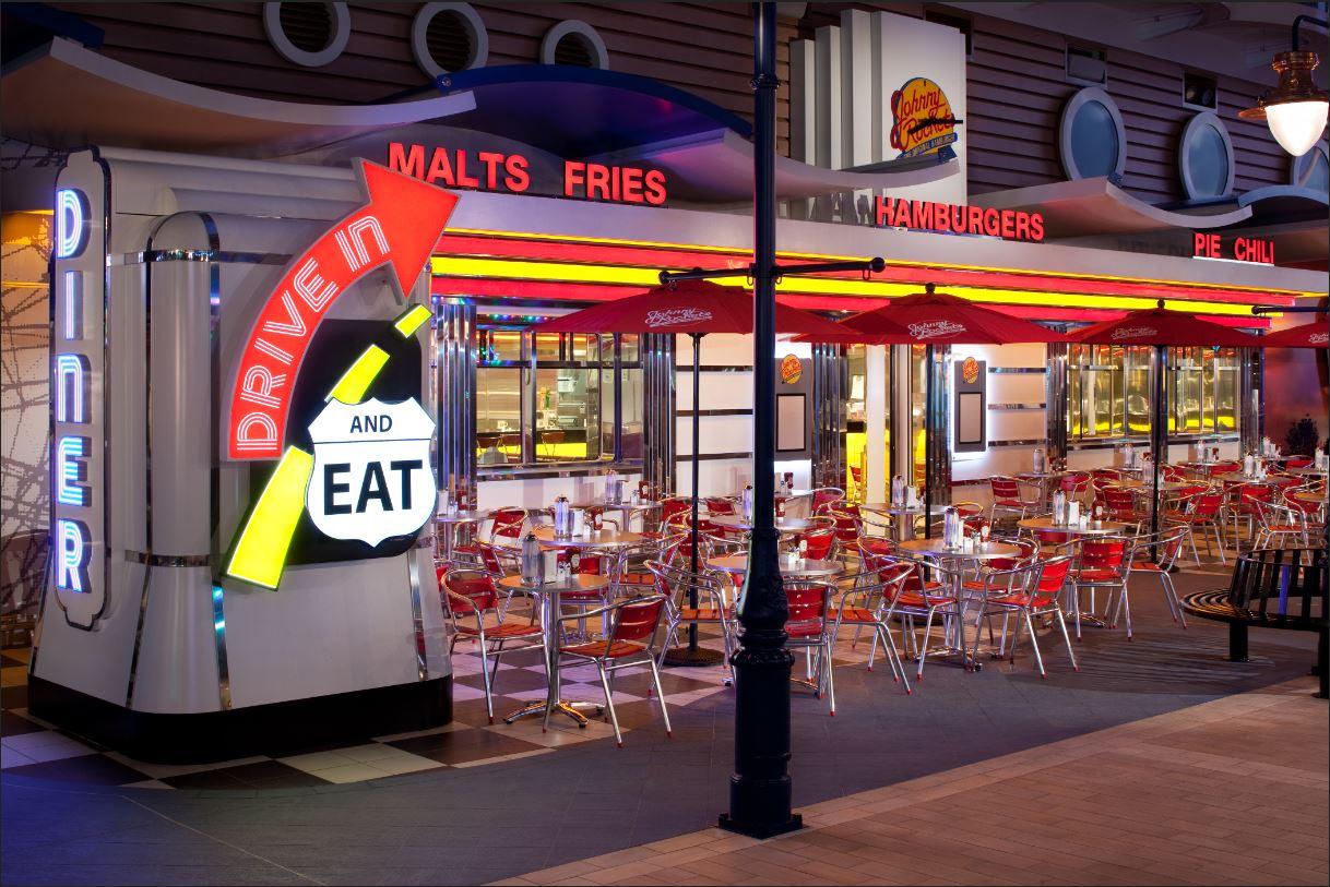 尊尼火箭餐厅 Johnny Rockets