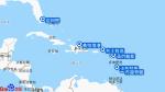 海洋富丽号航线图