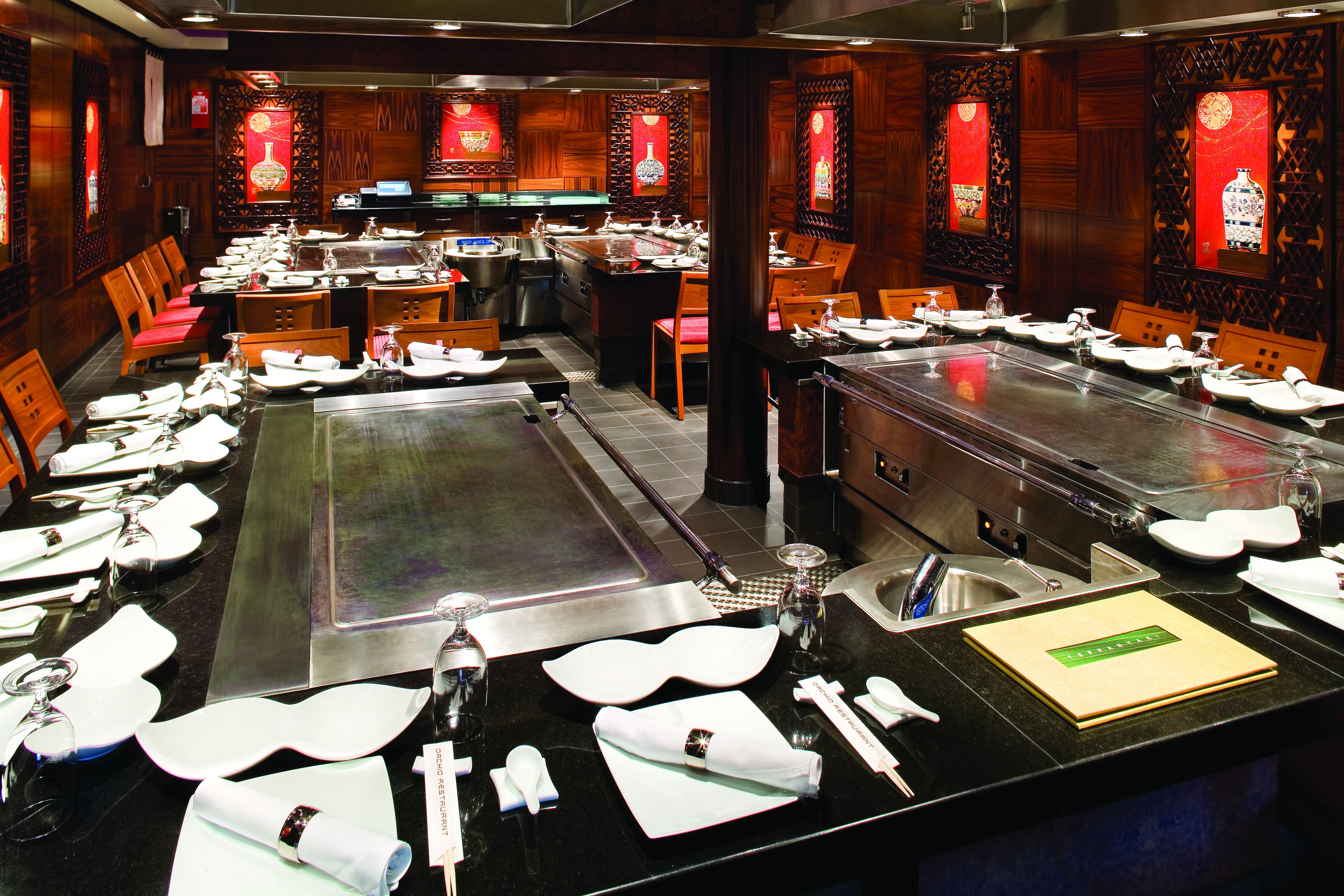 铁板烧餐厅 Teppanyaki