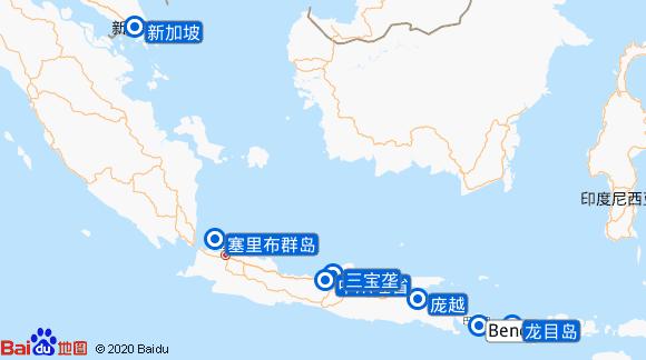 Wind Spirit航线图