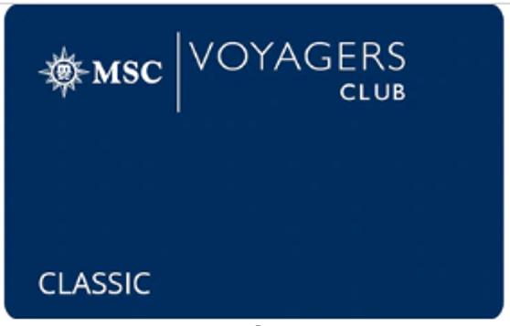 地中海航海家俱乐部-经典卡会员 MSC Voyagers Club-Classic Membership