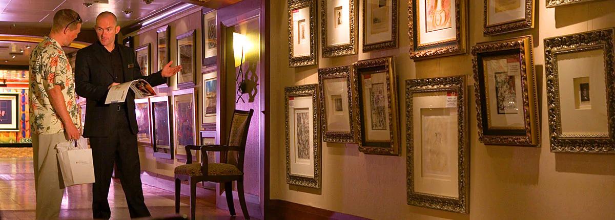艺术画廊 Art Gallery